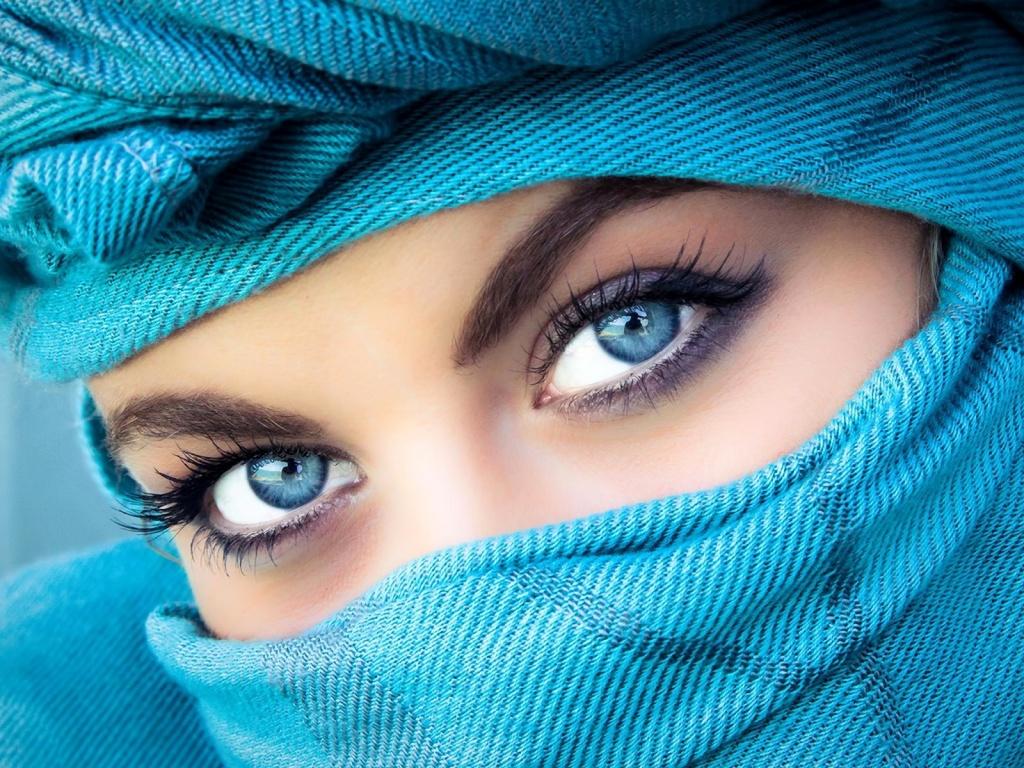 Como dibujar ojos mujer