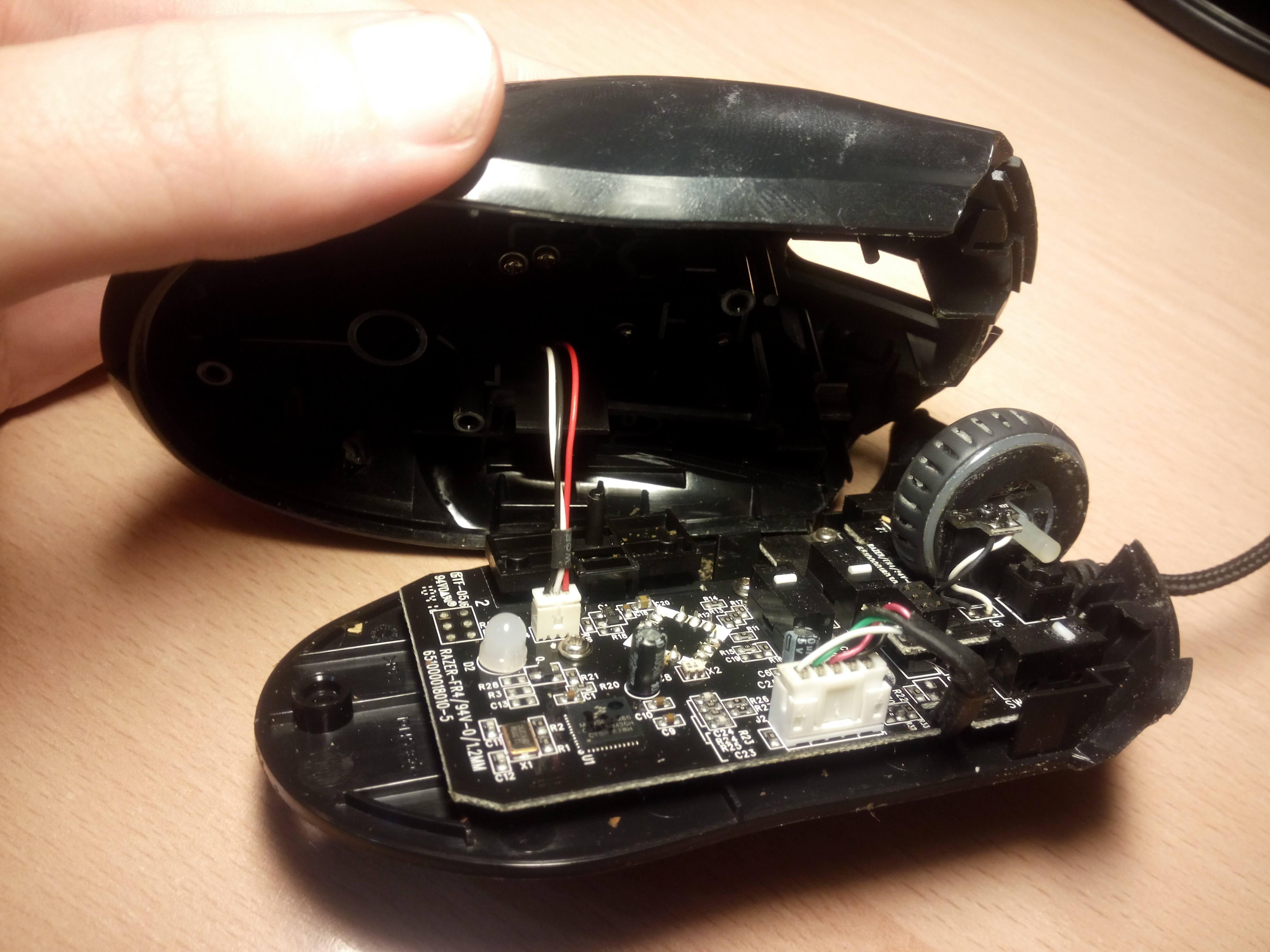 Como limpiar tu ratón – cable led 2