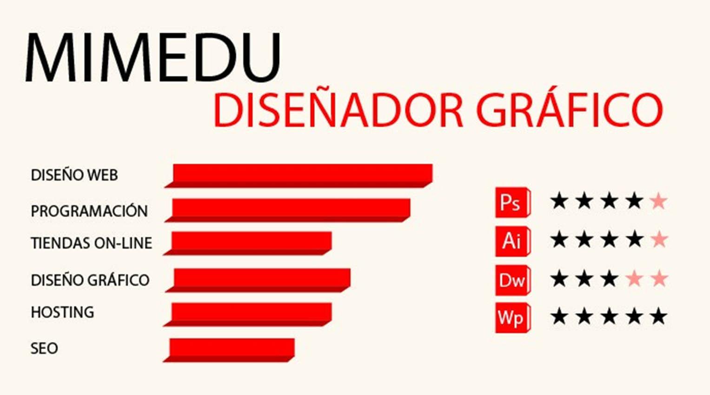 Infografía Diseñador Web – Mimedu