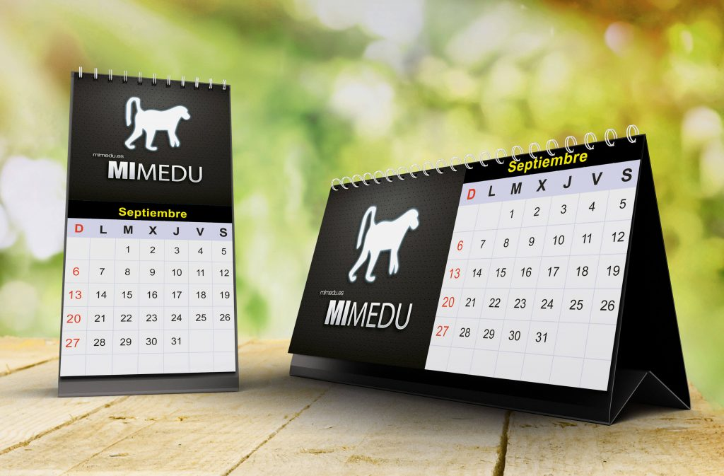 Calendario Mimedu Diseñador Web
