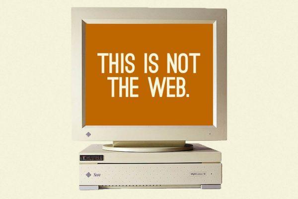 no web