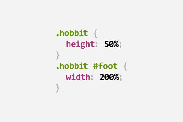 34 juegos de palabras en CSS -hobbit - Mimedu.es