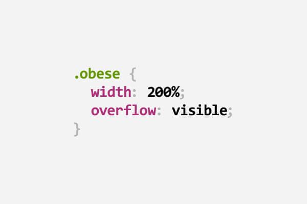 34 juegos de palabras en CSS - obeso - Mimedu.es