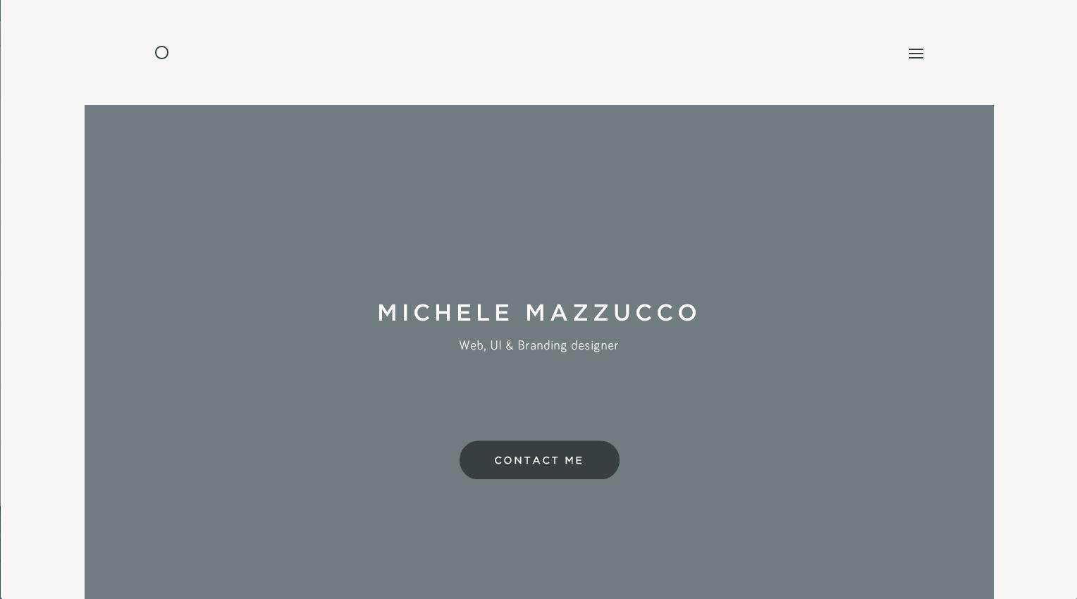 diseño web ancho centrado