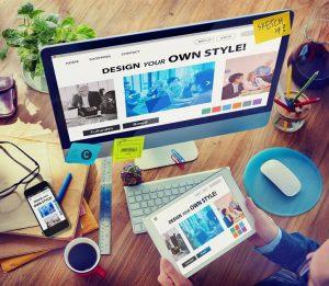 En qué se diferencia el diseño gráfico del diseño web