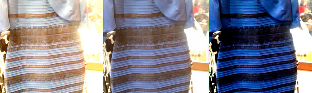 color vestido
