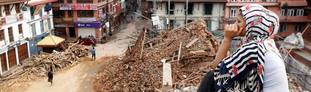 desastre de nepal