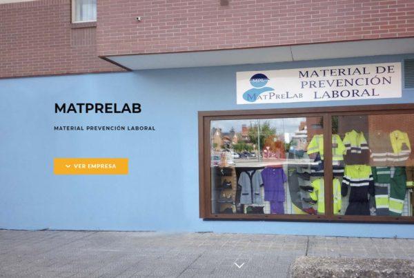 pagina web matprelab