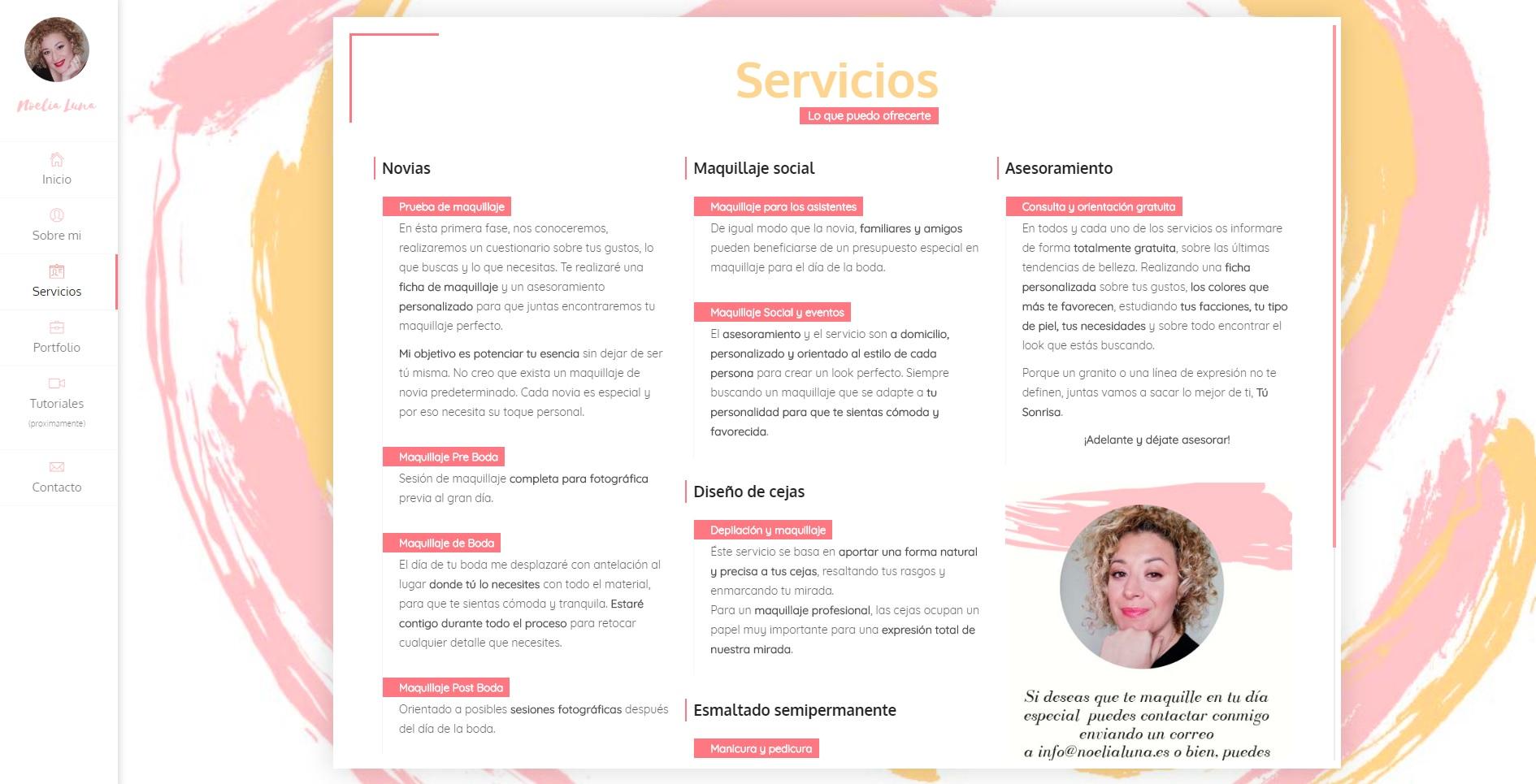 Servicios NoeliaLuna