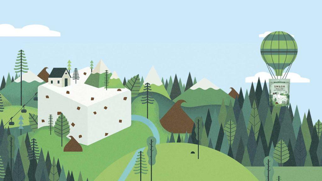 30 ejemplos de como usar una ilustración en diseño web