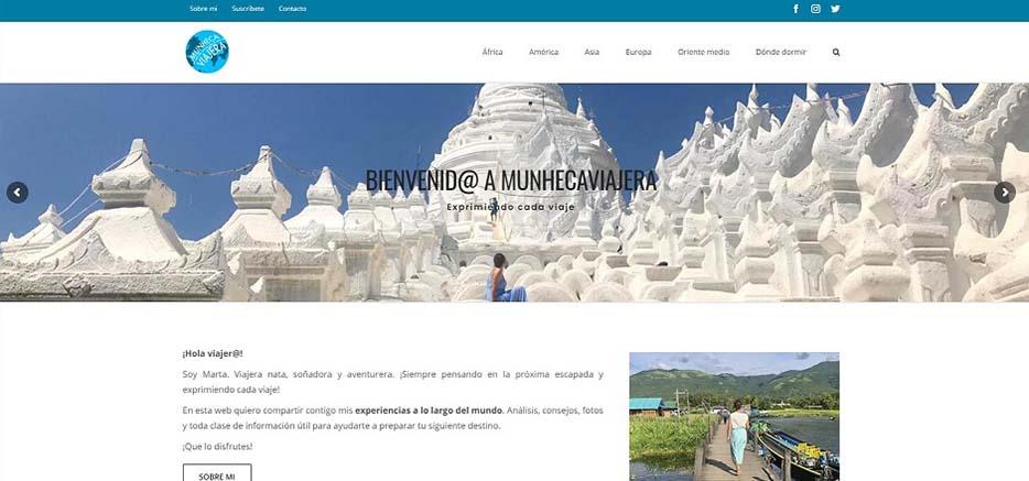 web de viajes mimedu